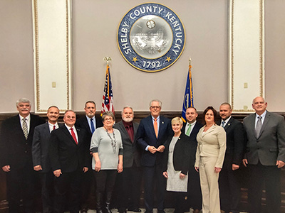 Shelby County Fiscal Court members